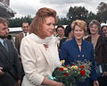 Queen Noor of Jordan in 1996 in Bosnia.JPEG