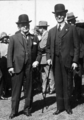 Queensland State Archives 3836 Sir James Blair Chief Justice and Sir Isaac Isaacs Governor General at RNA Show Official Opening 1931.png