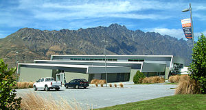 Queenstown Events Centre - View of the Queenstown Events Centre Building