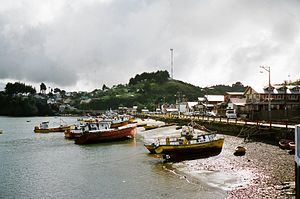 Quemchi - Port of Quemchi