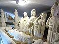 Quimperlé 11 Eglise Sainte-Croix La mise au tombeau.JPG