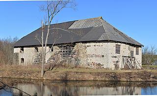Kärbla Village in Lääne County, Estonia