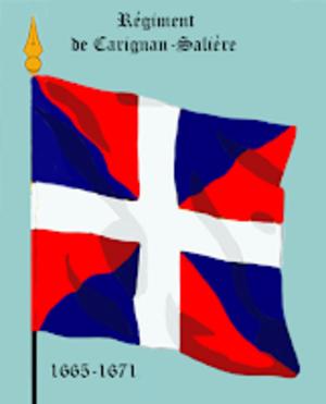 Carignan-Salières Regiment - Image: Rég de Carignan Salière 1665