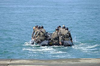 Republic of China Marine Corps - Marines at Zuoying Naval pier