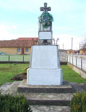 Română: Monumentul Eroilor din primul război m...