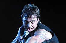 Robbie Williams in concerto a Sydney nel 2005