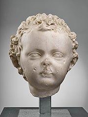 Portrait of a child Ra 126