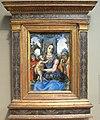 Raffaellino del garbo, sacra famiglia e un angelo, 1490-1500 ca..JPG
