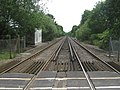 Railway to Paddock Wood, from Wagon Lane Level Crossing - geograph.org.uk - 1356947.jpg