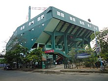Rajiv Gandhi Indor Stadium Side View.JPG
