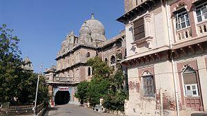 Mehsana - Rajmahal, a palace built in 1904 by Sayajirao Gaekwad III
