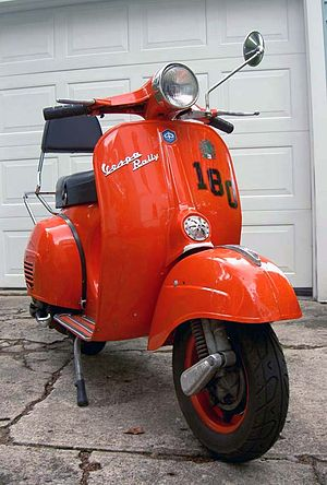 1969 Vespa Rally 180. One of the rarer vintage...