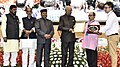 """Ram Nath Kovind presenting the """"Vayoshreshtha Sammans - 2017"""" to eminent senior citizens and institutions in recognition of their service towards the cause of the elderly persons, at a function, in New Delhi (6).jpg"""