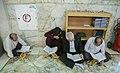 Ramadan 1439 AH, Qur'an reading at Fatima Masumeh Shrine, Qom - 17 May 2018 08.jpg