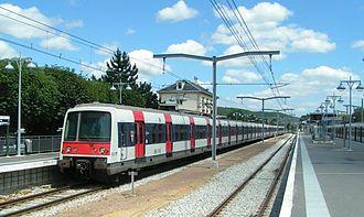 Saint-Rémy-lès-Chevreuse - RER B line railway station