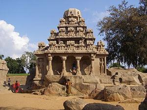 Dharmaraja Ratha - Full reflection of the architectural complexity of the Dharmaraja Ratha