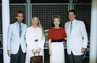 Roger Stone - Roger Stone and his then-wife Ann Stone with President Ronald Reagan and First Lady Nancy Reagan in 1984