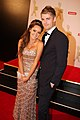 Rebecca Breeds & Luke Mitchell at the 2011 Logie Awards.jpg