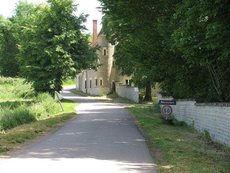 Ancienne abbaye de Réconfort, puis Château de Réconfort, aujourd'hui, Centre de convalescence de Réconfort.