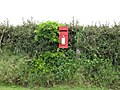 Red Postbox. - geograph.org.uk - 437971.jpg