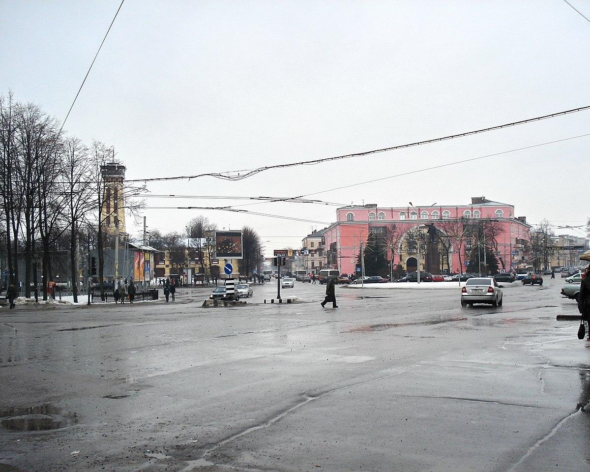 ярославль красная площадь фото