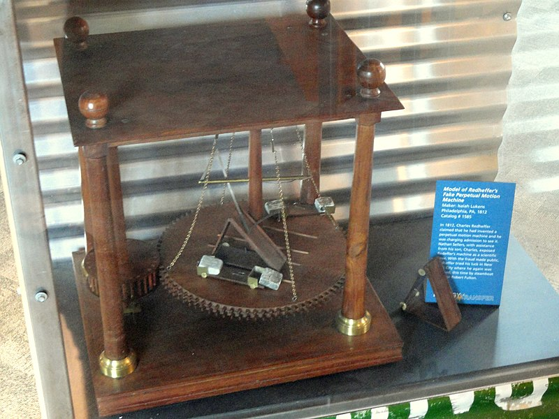 File:Redheffer's perpetual motion machine - Franklin Institue - DSC06610.JPG