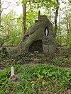 reek (landerd) rijksmonument 519144 klooster st. elisabeth, tuin lourdesgrotje