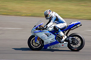 Régis Laconi - Laconi at the Assen round of the 2009 Superbike World Championship season