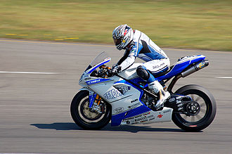 Régis Laconi - Laconi at the Assen round of the 2009 Superbike World Championship season