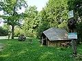 Reibiniškių miškas, poilsiavietė Dvikamienis ąžuolas.JPG