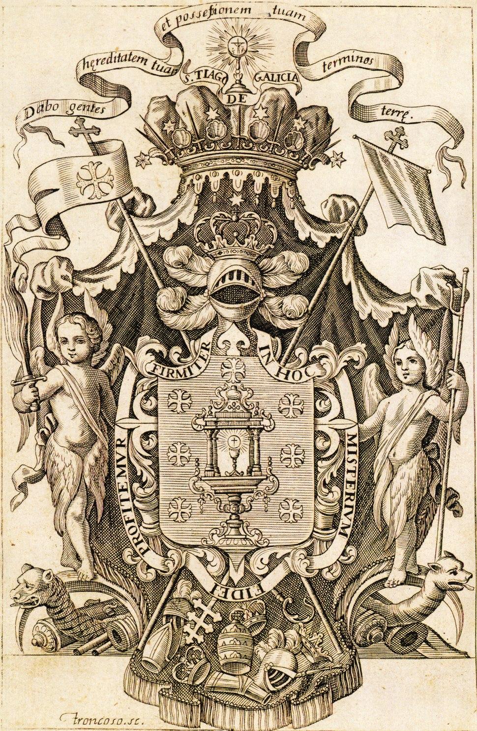 Reino de Galicia -kingdom of Galicia-troncoso