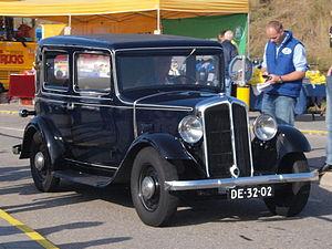Vilvoorde Renault Factory -  The Renault Monaquatre was assembled at Vilvoorde between 1931 and 1933.
