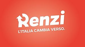 Democratic Party (Italy) leadership election, 2013 - Image: Renzi Cambia Verso logo