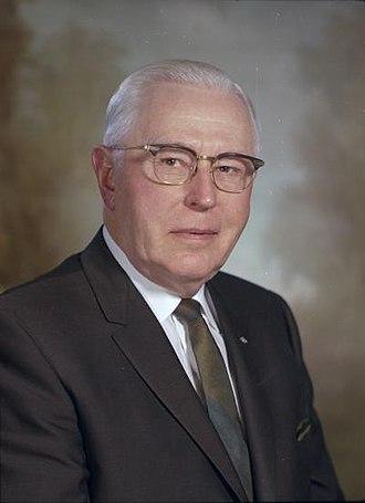 Alfred O. Adams - Adams in 1967
