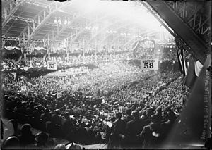 1912 Republican National Convention - The 1912 Republican National Convention in session