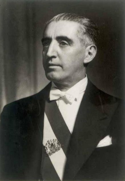 Retrato del Presidente Juan Antonio Ríos
