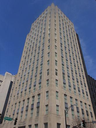 R. J. Reynolds Tobacco Company - Reynolds Building In Downtown Winston-Salem, North Carolina