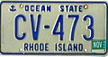 Rhode Island 1994 license plate - CV-473.jpg