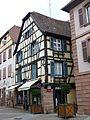 Ribeauville - Maison - 28 Grand-Rue - angle impasse du Pêcheur) (pas dans liste) (1-2016) P1050704.jpg