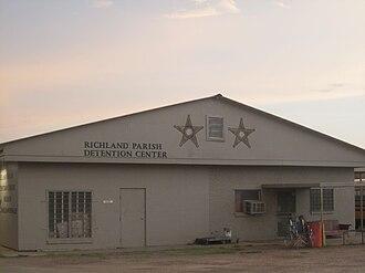 Richland Parish, Louisiana - Image: Richland Parish, LA, Detention Center IMG 0350
