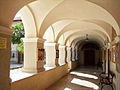 Rijeka-Trsat-Church's courtyard1.jpg