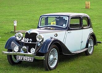 Riley Nine - 1937 Riley Nine with steel Merlin body by Briggs