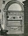 Rimini Tempio Malatestiano Sepolcro di Sigismondo Malatesta xilografia di Richard Brend'amour.jpg