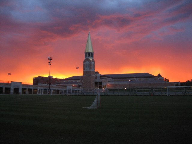 Ritchie Center sunrise 2006