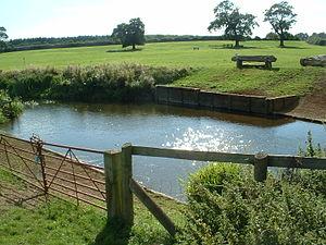 River Leam - The River Leam near Offchurch Bury