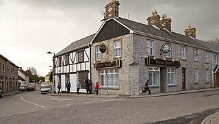 Riverstown Village in Connacht, Ireland