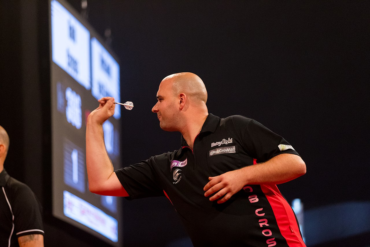Image result for rob cross darts
