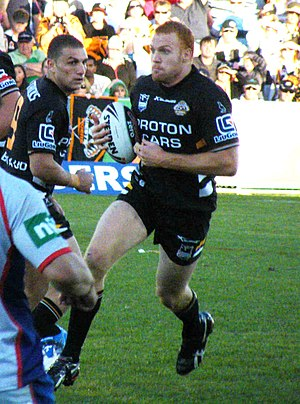 Keith Galloway - Galloway playing for Wests in 2009