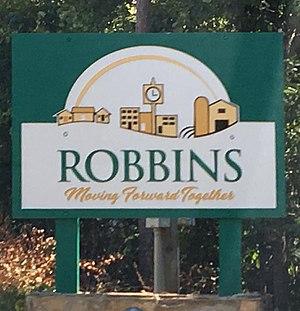 Robbins, North Carolina - Robbins Welcome Sign