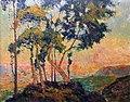 Robert Antoine Pinchon, Vue prise au Mont-Gargan soleil couchant (before 1909), oil on canvas, 65 x 81 cm, Musée des Beaux-Arts de Rouen.jpg